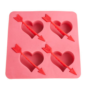 Food Grade FDA Certificated Flexible Silicone Ice Cube Tray pictures & photos
