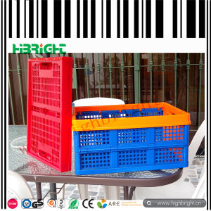 Collapsible Plastic Foldable Crate pictures & photos