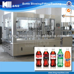 Glass Bottle Carbonated Soda Water Bottling Machine pictures & photos