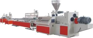 PVC Plastic Profile Extruder Machinery pictures & photos