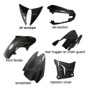 Carbon Fiber Motorcycle Parts Fairing Kits for Kawasaki pictures & photos
