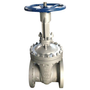 "API Gate Valve (WCB 150LB RF flanged connect 2""--28"") pictures & photos"