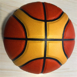 Basketball Customized Wear-Resisting Quality Cheap 12pieces4#5#6#7# PU Basketball pictures & photos