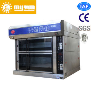 Baking Equipments Double Deck Oven for Pizza pictures & photos