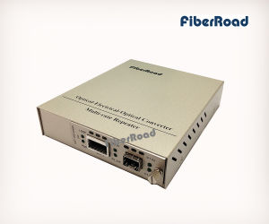 10g SFP+ to XFP Standalone Media Converter Card Kit with 3r Repeater