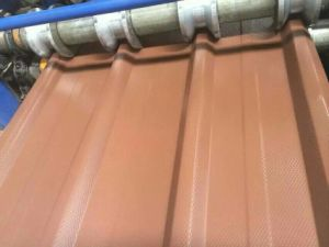 Colour Coated Corrugated Galvanized Steel Sheet for Roofing Material pictures & photos