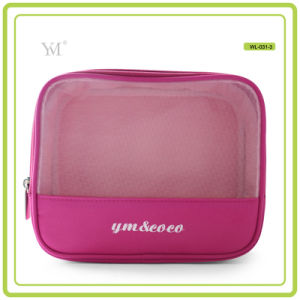 Made in China Durable Mesh Toiletry Travel Cosmetic Bag pictures & photos