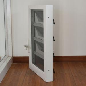 Aluminum Glass Shutter Window K09001 pictures & photos
