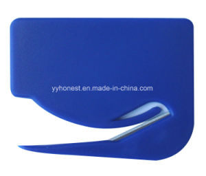 Customs Plastic Envelope Cutter Letter Opener for Promotion pictures & photos