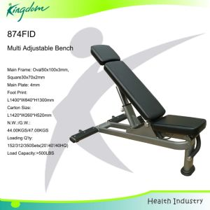 Fitness Bench/Fid Bench/ Free Standing /Adjustable Bench pictures & photos