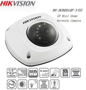 Hikvision 1.3MP IP66 Network Mini Dome Camera IP IR Poe Camera (DS-2CD2512F-IS) pictures & photos