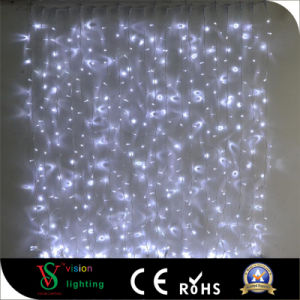 LED Christmas Rubber Fairy Curtain Lights pictures & photos