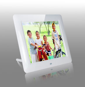 8inch White Digital Photo Frame with Slim Body pictures & photos