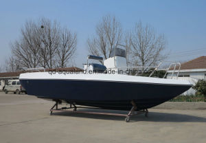 China Aqualand 21feet 6.25m Fiberglass Fishing Boat/Sports Motor Boat/Fishing (205c) pictures & photos