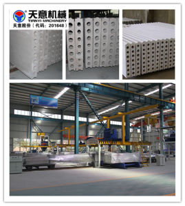 Hollow Core Gypsum Wall Panel Forming Machine pictures & photos