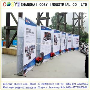 Economic Cost Portable Aluminum Pop up Display Stand for Exhibition pictures & photos
