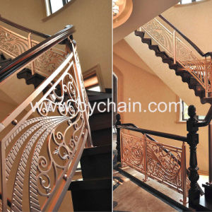 Building Customized Aluminium Stair Fence pictures & photos