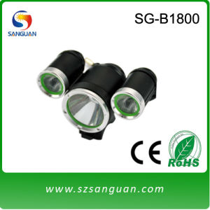 SG-B1800 LED Light for Bicycle with Waterproof Aluminum Body