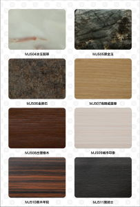 Waterproof Mildewproof Wall Decoration Profile WPC Panel (CX-80A) pictures & photos