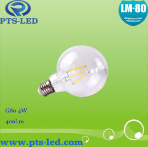 G80 4W LED Filament Bulb Light with Ce RoHS Approval pictures & photos