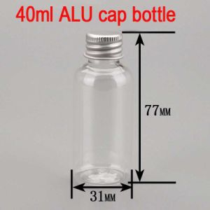 40ml Alu Screw Cap Clear Empty Cream Pet Plastic Bottle pictures & photos
