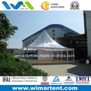 8X8m Outdoor Clear Roof Pergola with Flooring Linings pictures & photos