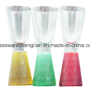 Shot Glass with Colorful Base (B-ST012) pictures & photos