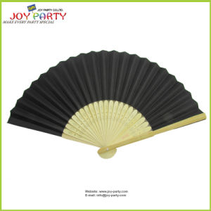 Black Paper Hand Fan Halloween Decotive Crafts pictures & photos