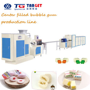 Advanced Technology Center Filled Bubble Gum Production Line with Ce Certification pictures & photos