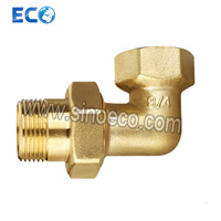 Brass Male Elbow with Extension Pipe Fitting pictures & photos