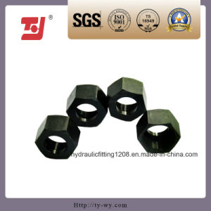 Good Quality Factory Manufactured Hydraulic Fitting Hexagon Nut (Jb981-77-22 M22*1.5)