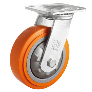 Heavy Duty PP Caster (Orange) pictures & photos