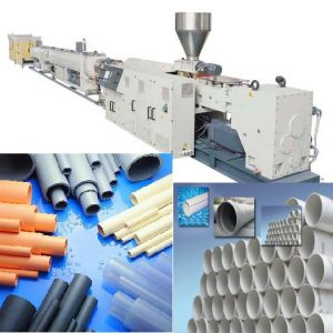 PVC Pipe Production Line/ PVC Pipe Line/ PVC Pipe Making Machine/ PVC Pipe Extrusion Line/ PVC Tube Making Machine/ PVC Water Pipe Production Line pictures & photos