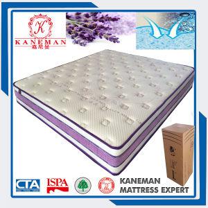 Lanvanda Sweet Smell Foam Encased Pocket Spring Mattrss Roll in Box pictures & photos