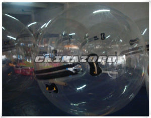 Transparent PVC/TPU Human Hamster Ball with Soft Woven Tape Handles pictures & photos