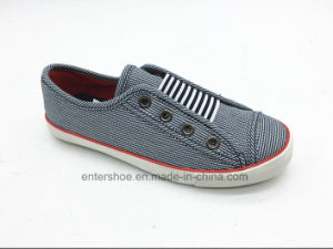 Low Top Children Casual Shoes with Big Elastic (ET-LH160273K) pictures & photos