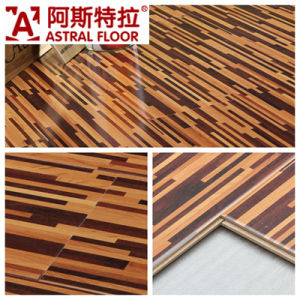German Technical Mirror Surface (u-groove) Laminate Flooring (AD385) pictures & photos