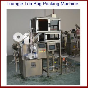 Triangle Shaped Nylon Bags Packaging Machine for Tea pictures & photos