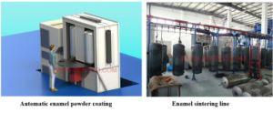 Enamel Powder Coating Line Enamel Tank of Water Heater pictures & photos