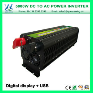 Portable 5000W off Grid Power Inverter with Digital Display (QW-M5000) pictures & photos
