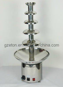 Electric 5 Tiers Chocolate Fountain for Commecial Using pictures & photos