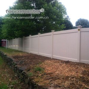 ISO9001 Certificated Vinyl Fence pictures & photos