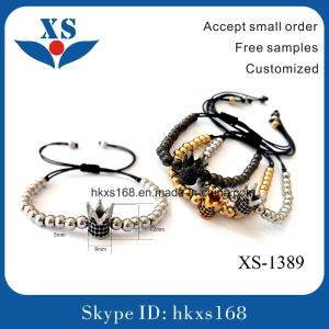 High End Stainless Steel Gold Bead Bracelets for Women
