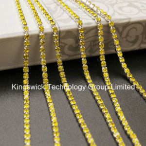 Wholesale Crystal Cup Chain Trimming for Wedding pictures & photos