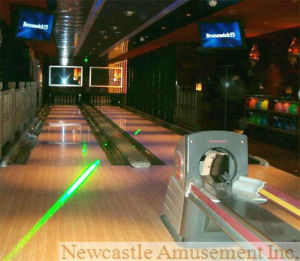 2 Lane Glow-in-Dark Overlay Bowling Equipment pictures & photos