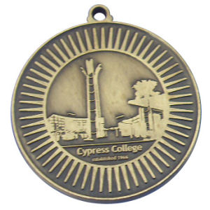 Colorless Medal Antique Brass Plating pictures & photos