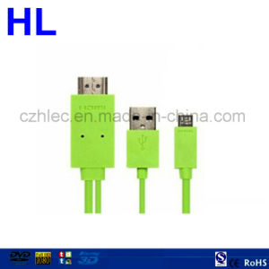 Mobile Phone HDMI to USB Cable pictures & photos