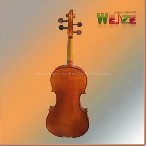 4/4 Golden Color Entry Level Student Violin pictures & photos