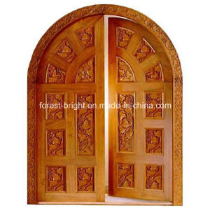 Custom Arched Double Door Design pictures & photos