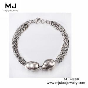 Special Designed Blue Bead Bracelet for Ladies Mjb-0880